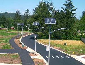 Solar Street lighting & Security lighting Systems